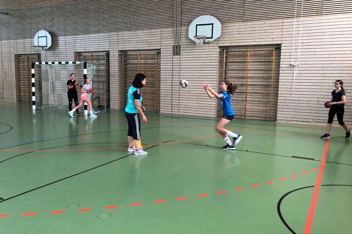 wD-Jugend - Trainings-Restart